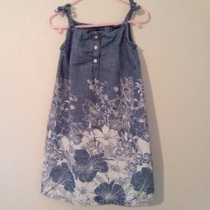 Girls' Baby Gap Lightweight Denim Dress Sz. 5T
